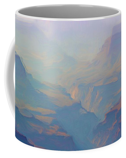 Grand Canyon Coffee Mug featuring the photograph Canyon Close Up by Heidi Smith