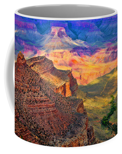 Grand Canyon Coffee Mug featuring the photograph Canyon View by Jon Berghoff