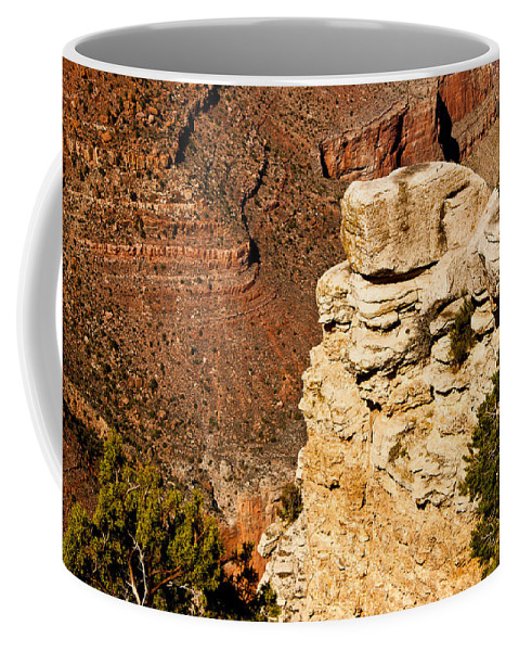 Grand Canyon Coffee Mug featuring the photograph Canyon View V by Jon Berghoff