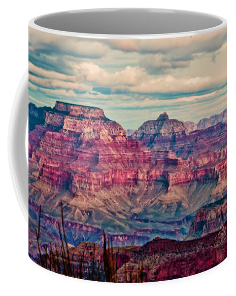 Grand Canyon Coffee Mug featuring the photograph Canyon View Xii by Jon Berghoff