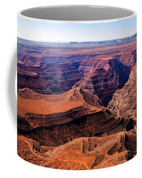 San Juan River Coffee Mug featuring the photograph Canyonlands II by Robert Bales