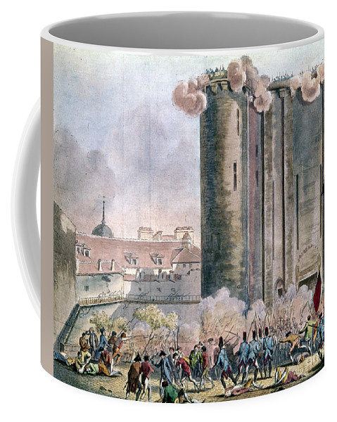 1789 Coffee Mug featuring the photograph Capture Of The Bastille by Granger