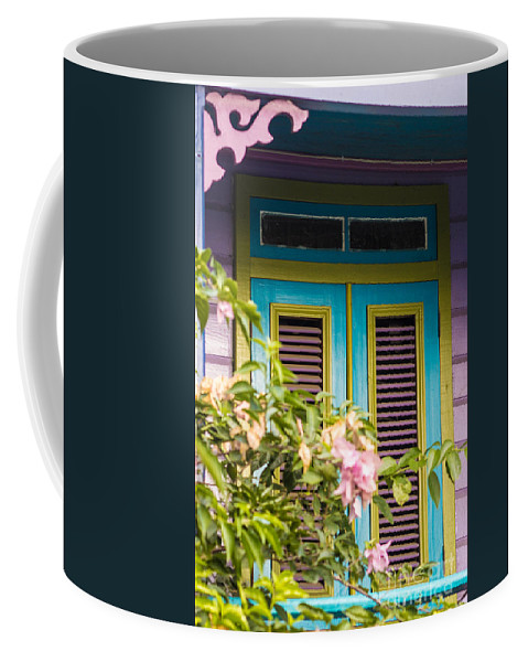 Bvi Coffee Mug featuring the photograph Caribbean Blue by Rene Triay Photography
