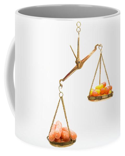 Balance Coffee Mug featuring the photograph Carrots And Vitamin C by Diane Macdonald