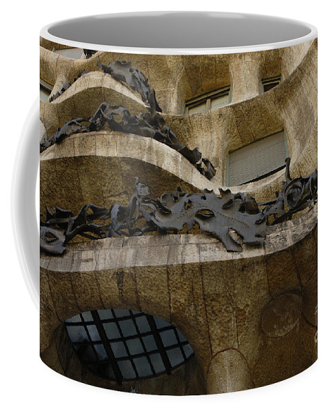 Casa Mila Coffee Mug featuring the photograph Casa Mila Spain by Bob Christopher