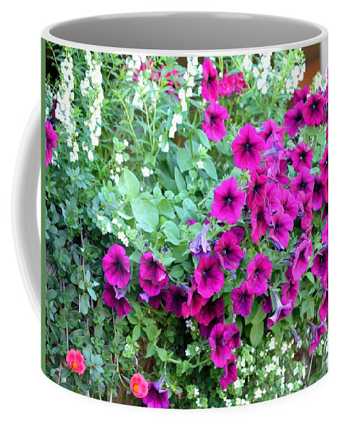 Cascading Coffee Mug featuring the photograph Cascading Elation by Maria Urso