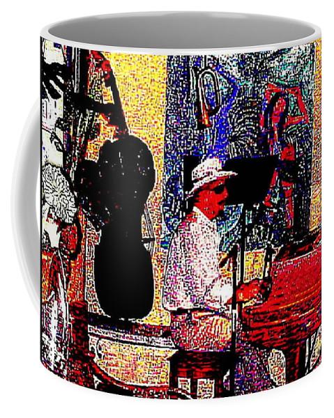 Music Coffee Mug featuring the photograph Casanova by Sadie Reneau