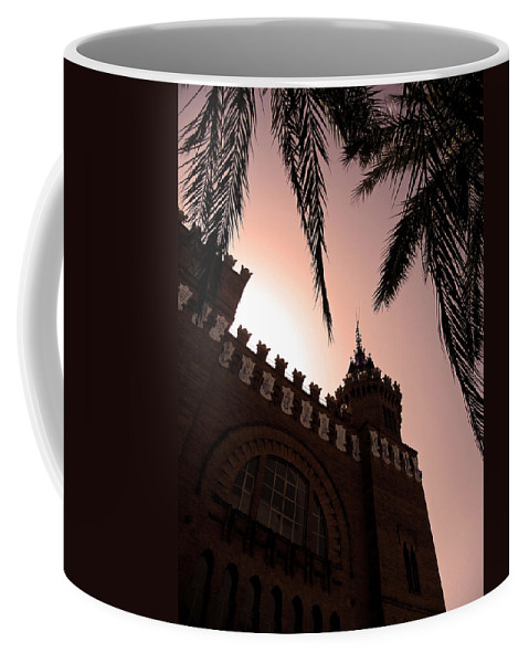 Europe Coffee Mug featuring the photograph Castell Dels Tres Dragons - Barcelona by Juergen Weiss