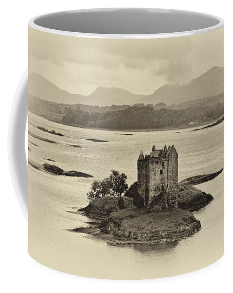 Castle Stalker Coffee Mug featuring the photograph Castle Stalker by Chris Thaxter