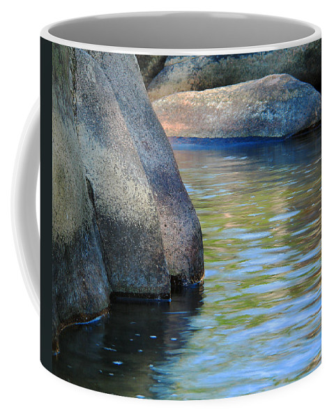 River Coffee Mug featuring the photograph Castor River Reflections by Greg Matchick
