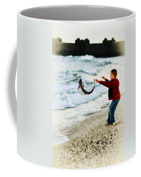 Catch And Release Coffee Mug featuring the photograph Catch And Release by Bill Cannon