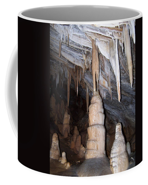Cave Formations Coffee Mug featuring the photograph Cave Formations 44 by Ernie Echols