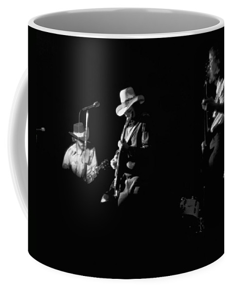 Charlie Daniels Band Coffee Mug featuring the photograph Cdb At Winterland 1975 by Ben Upham