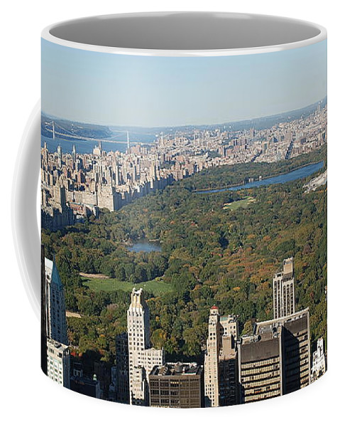 New York Coffee Mug featuring the photograph Central Park by Richard Bryce and Family
