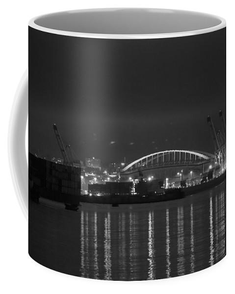 Football Coffee Mug featuring the photograph Centurylink Field by Michael Merry