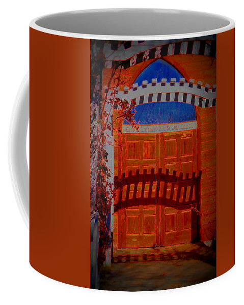 Chapel Coffee Mug featuring the photograph Chapel Of Love by Diane montana Jansson