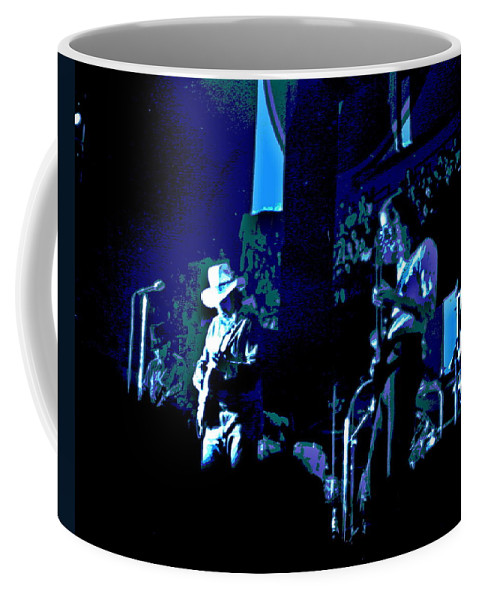 Charlie Daniels Band Coffee Mug featuring the photograph Winterland Blues 1975 by Ben Upham