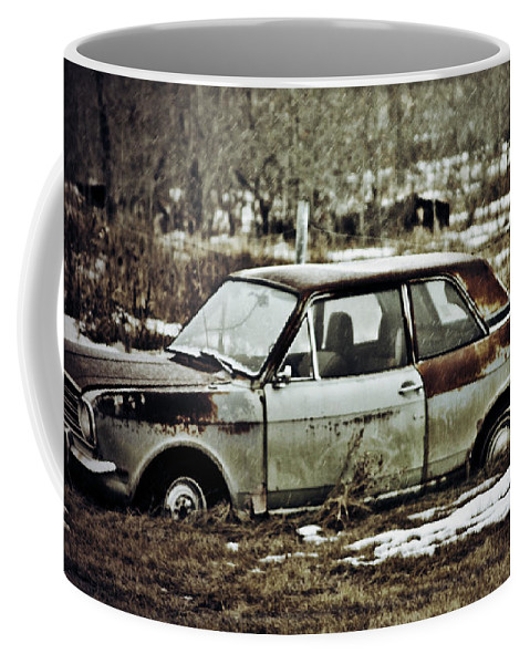 Photographs Framed Prints Framed Prints Coffee Mug featuring the photograph Checkout The Truck by The Artist Project