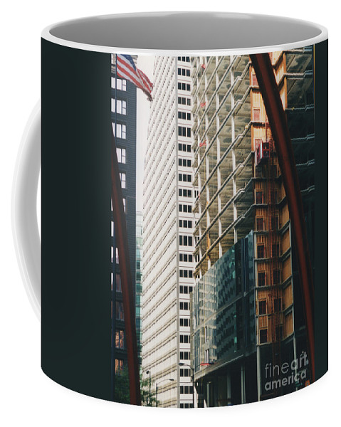 First Star Coffee Mug featuring the photograph Chicago Geometry by First Star Art