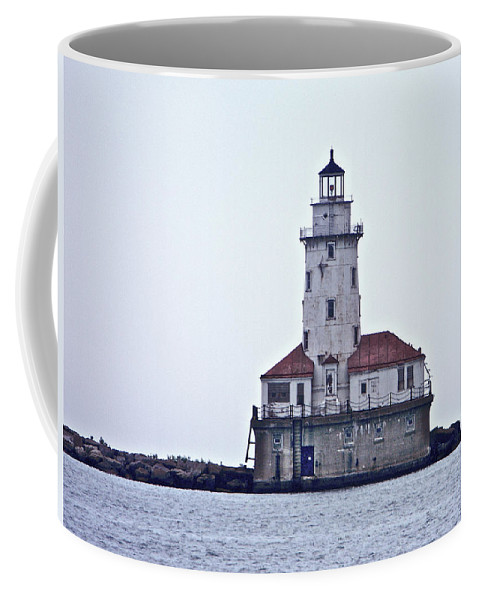 Chicago Coffee Mug featuring the photograph Chicago Impressions 9 by Marwan George Khoury