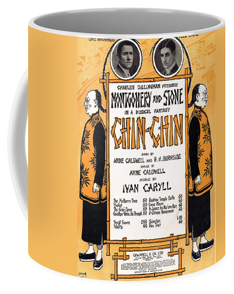 Classic Coffee Mug featuring the photograph Chin Chin by Mel Thompson
