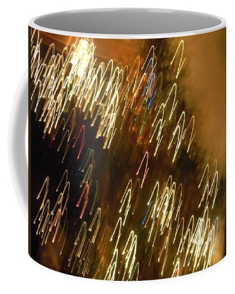 Christmas Coffee Mug featuring the photograph Christmas Card - Jingle Bells by Marwan George Khoury
