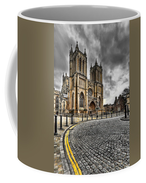 Hdr Coffee Mug featuring the photograph Church Of England by Adrian Evans