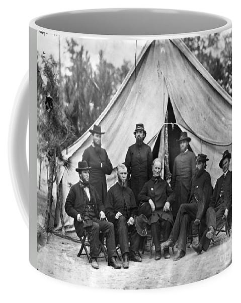 1864 Coffee Mug featuring the photograph Civil War: Chaplains, 1864 by Granger