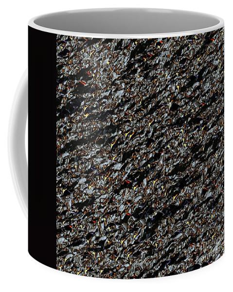 Code Coffee Mug featuring the digital art Clara-code 2. by Klara Acel