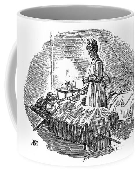 1900 Coffee Mug featuring the photograph Clara Maass (1876-1901) by Granger