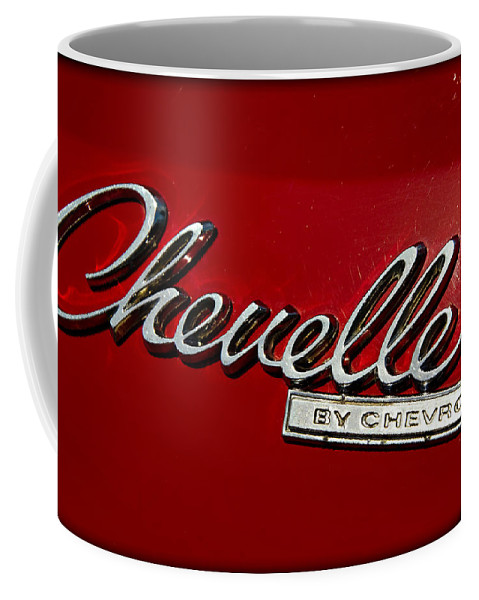 Chevrolet Coffee Mug featuring the photograph Classic Chevelle by Ricky Barnard