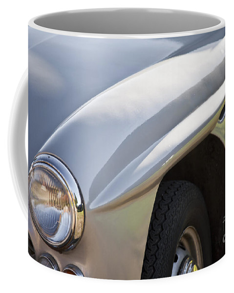 Jensen 541 S Coffee Mug featuring the photograph Classic Jensen 541 S by Heiko Koehrer-Wagner