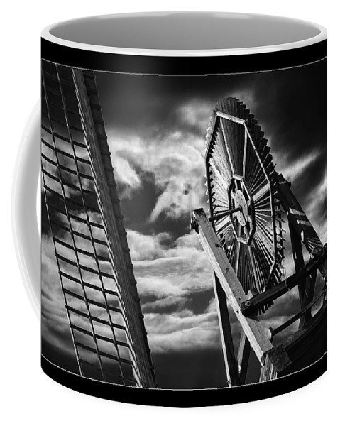 Art Photography Coffee Mug featuring the photograph Classic Old Windmill by Blake Richards