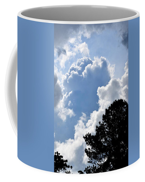 Clouds Coffee Mug featuring the photograph Cloud Power by Maria Urso