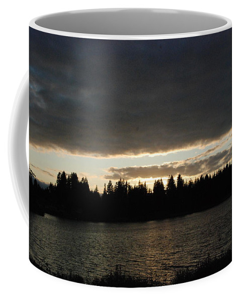 Clouds Coffee Mug featuring the photograph Cloudy Sunset by Michael Merry
