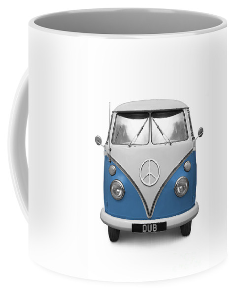 Vw Coffee Mug featuring the photograph Cnd Vw Dub by Martin Williams