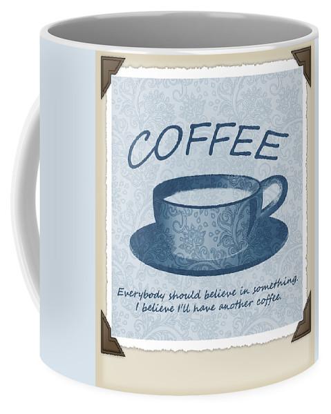 Coffee Coffee Mug featuring the digital art Coffee 1 Scrapbook by Angelina Vick