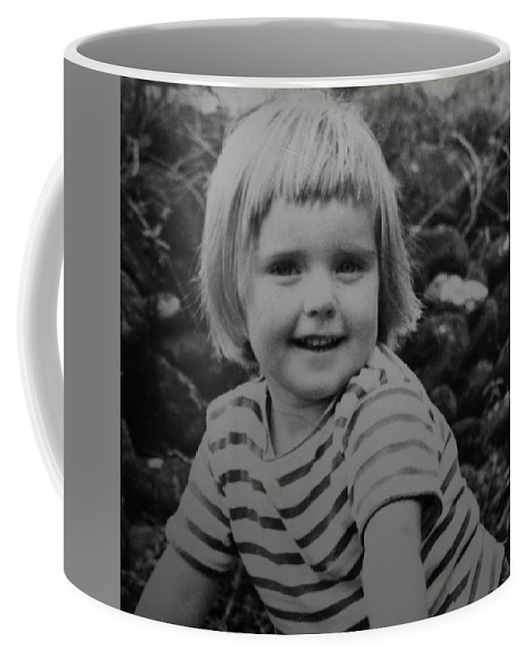 Colette Coffee Mug featuring the photograph Colette Happy 4 Years Old In France by Colette V Hera Guggenheim