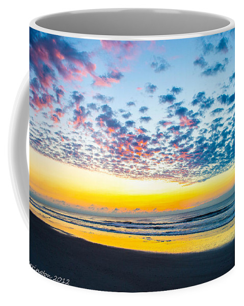 Sunrise Coffee Mug featuring the photograph Color In The Sky by Shannon Harrington