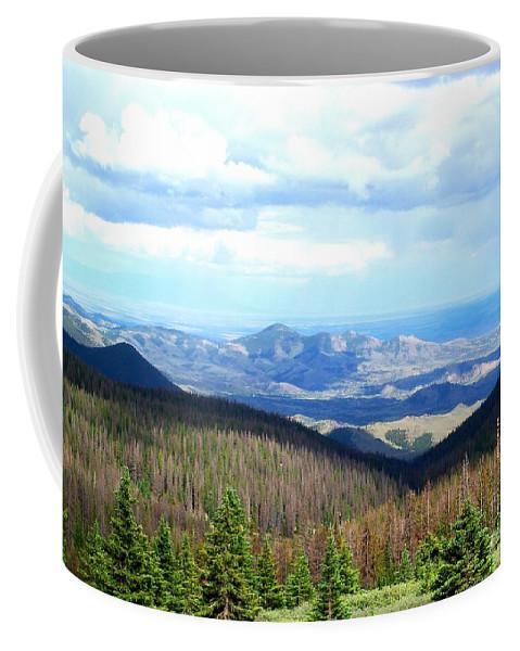 Mountain Coffee Mug featuring the photograph Colorado Landscape by Samantha Glaze