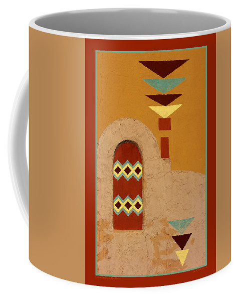 Silver City Coffee Mug featuring the photograph Colors by Vicki Pelham
