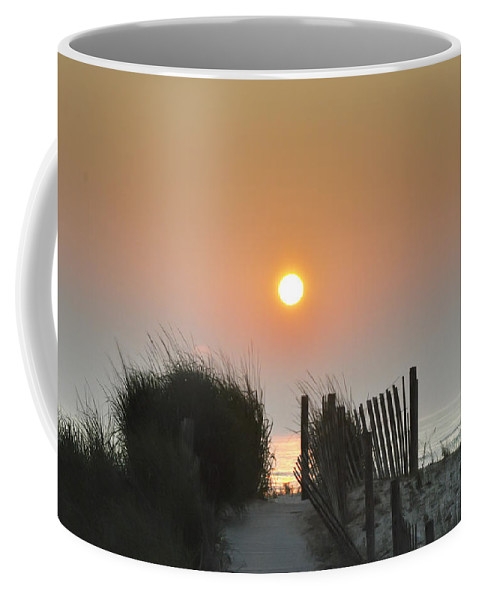 Sunrise Coffee Mug featuring the photograph Come Greet The Sunrise by Bill Cannon