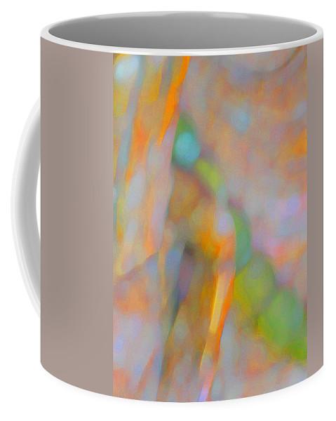 Abstract Coffee Mug featuring the digital art Comfort by Richard Laeton