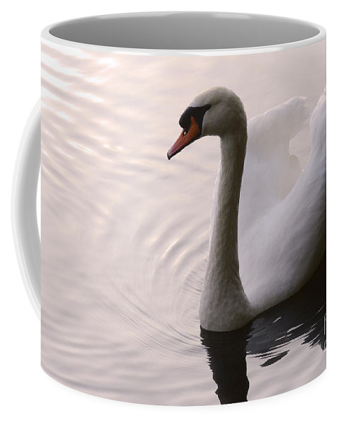 Swan Coffee Mug featuring the photograph Completely Elegant by Bob Christopher