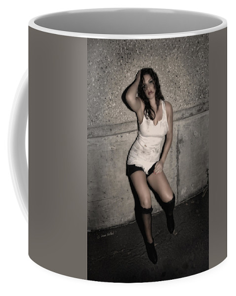 Woman Coffee Mug featuring the photograph Concrete Velvet 24 by Donna Blackhall