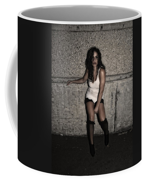Woman Coffee Mug featuring the photograph Concrete Velvet 26 by Donna Blackhall