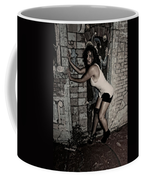 Woman Coffee Mug featuring the photograph Concrete Velvet 33 by Donna Blackhall