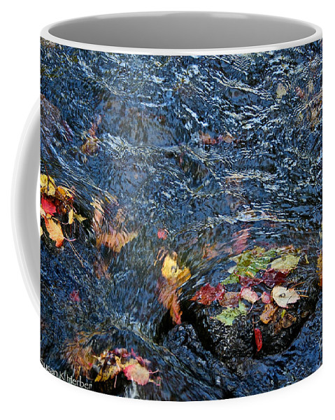 Outdoors Coffee Mug featuring the photograph Confetti By Mother Nature by Susan Herber