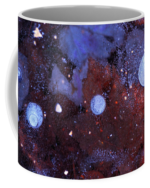 Ice Coffee Mug featuring the photograph Conjunction by Susan Capuano