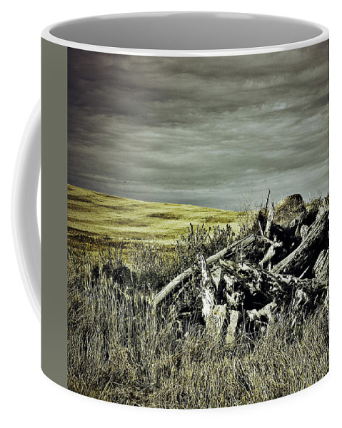 Street Photographer Coffee Mug featuring the photograph Controlled Burn by The Artist Project